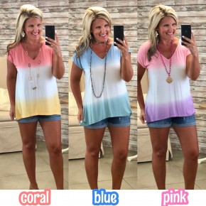 Moments In The Sun Tiedye Top