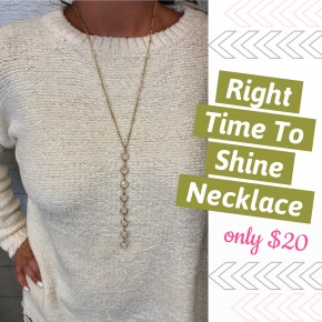 Right Time To Shine Necklace