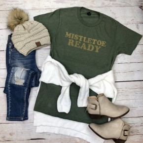 Mistletoe Ready Graphic Tee