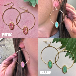 Cotton Candy Wishes Earrings