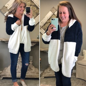 Warm Me Up Hooded Cardigan