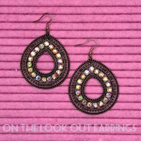 On The Look Out Earrings
