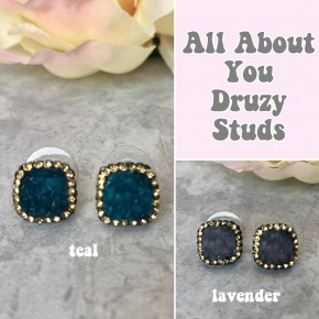 All About You Druzy Studs