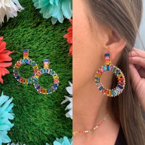 Color The World Earrings