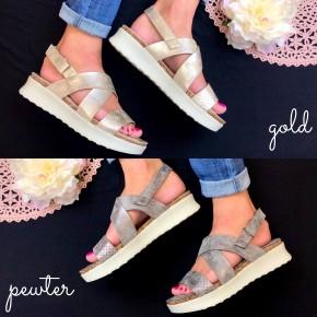 Pick Up The Pace Flatform Sandals