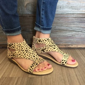 Jayde Cheetah Sandals