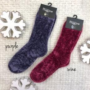 Chenille Socks - Black Friday