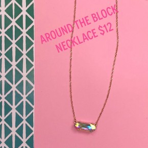 Around The Block Necklace