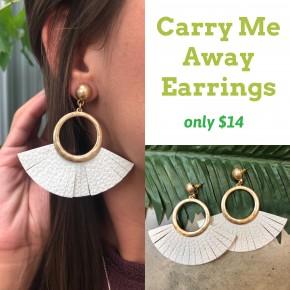 Carry Me Away Earrings