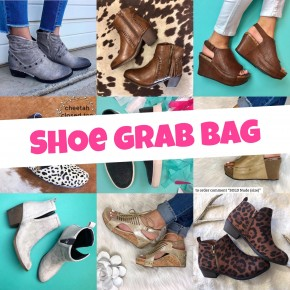 Shoe Grab Bag (FINAL SALE - NO EXCHANGE OR RETURNS)