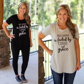 Coffee and Grace Tee