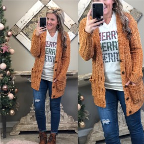 Bare The Cold Cardigan
