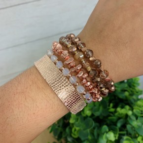 Just A Little Crush Bracelet Stack