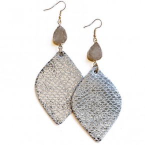 Last One To Know Earrings Silver