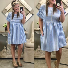 Chambray All Day Dress *Final Sale*