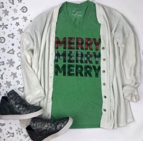 Merry Merry Merry Tee *Final Sale*