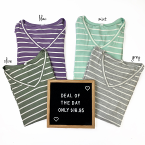 * Days Of Stripes Top