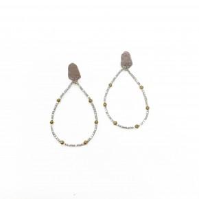 The Luna Earrings Silver