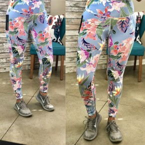 Falling For You Floral Leggings FINAL SALE