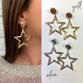Always Be A Star Earrings