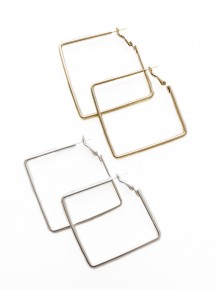 Take On The World Square Hoops
