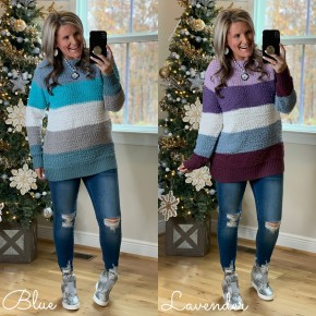 Winter Wonders Popcorn Sweater  *Final Sale*