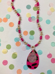 Barbie Babe Necklace
