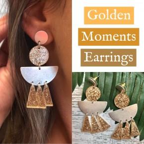 Golden Moments Earrings
