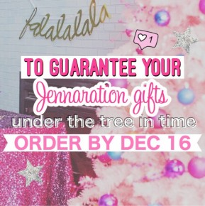 ORDER BY DEC. 16TH!