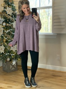 Day To Remember Tunic Lavender