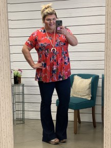 Living In A Dream Floral Top