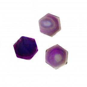 Hexagon Phone Stone Purple