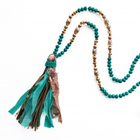 The Perfect Time Necklace Turquoise