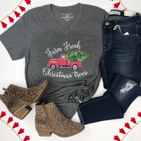 Farm Fresh Christmas Trees Tee *Final Sale*