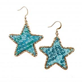 Just My Way Earrings Blue