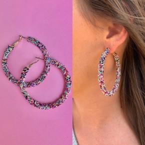 Oh Happy Day Hoop Earrings