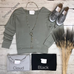Fleece French Terry Top *Final Sale*