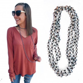 Downtown Nights Wrap Necklace