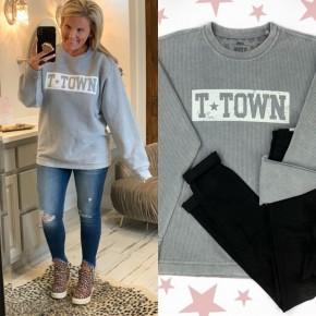 T-Town Corded Sweatshirt