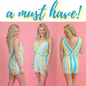 Seaside Retreat Romper *Final Sale*