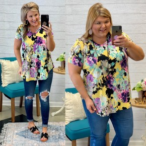 Bring On The Blooms Top