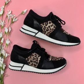 Take Me For A Ride Cheetah Sneaker