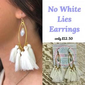 No White Lies Earrings