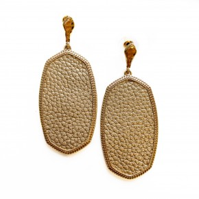 Tell Me Twice Earrings Gold