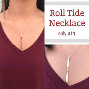 Roll Tide Necklace