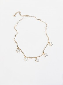 The Sophia Necklace White