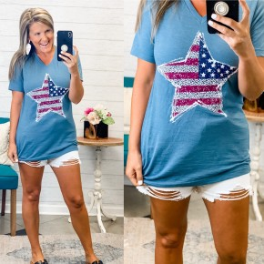 Wild For The USA Tee
