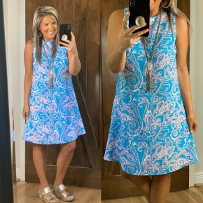 Road To Paradise Dress