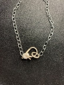 Locked Away Necklace Gold