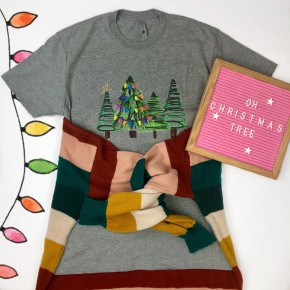 Simple Christmas Tree Tee *Final Sale*
